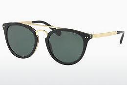 Polo Damen Sonnenbrille » PH4129«, schwarz, 500171 - schwarz/grün