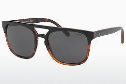 Polo Herren Sonnenbrille » PH4132«, schwarz, 528487 - schwarz/grau