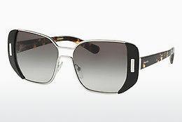 PRADA Prada Damen Sonnenbrille » PR 07TS«, weiß, VAG0A7 - weiß/grau