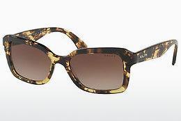 RALPH Ralph Damen Sonnenbrille » RA5239«, gelb, 167213 - gelb/braun