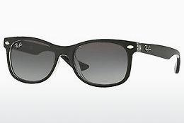 Sonnenbrille Ray-Ban Junior Junior New Wayfarer (RJ9052S 702211) - Schwarz, Transparent