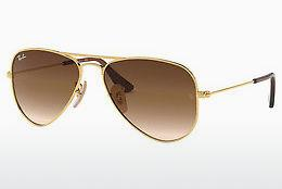 Sonnenbrille Ray-Ban Junior Junior Aviator (RJ9506S 223/13) - Gold