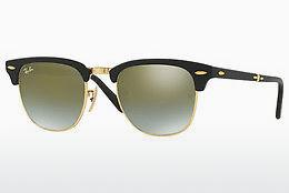 Sonnenbrille Ray-Ban CLUBMASTER FOLDING (RB2176 901S9J) - Schwarz