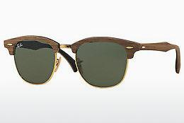 Sonnenbrille Ray-Ban CLUBMASTER (M) (RB3016M 1181) - Braun