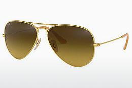 Sonnenbrille Ray-Ban AVIATOR LARGE METAL (RB3025 112/85) - Gold