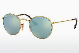 Sonnenbrille Ray-Ban ROUND METAL (RB3447N 001/30) - Gold