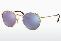 Sonnenbrille Ray-Ban ROUND METAL (RB3447N 001/8O) - Gold
