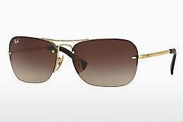Sonnenbrille Ray-Ban RB3541 001/13 - Gold
