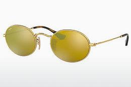 Sonnenbrille Ray-Ban Oval (RB3547N 001/93) - Gold
