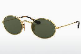 Sonnenbrille Ray-Ban Oval (RB3547N 001) - Gold
