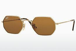 Sonnenbrille Ray-Ban Octagonal (RB3556N 001/33) - Gold