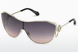 roberto cavalli Roberto Cavalli Damen Sonnenbrille » RC1058«, gelb, 53F - gelb/braun