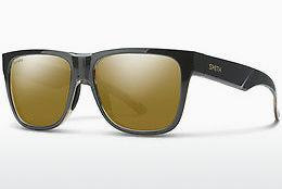 Sonnenbrille Smith LOWDOWN 2 ACI/QE - Grau, Schwarz, Braun, Havanna
