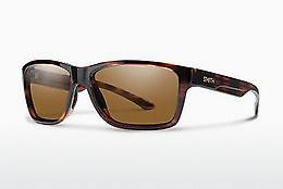 Sonnenbrille Smith WOLCOTT VP1/S3 - Braun, Havanna