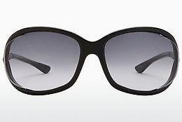 Sonnenbrille Tom Ford Jennifer (FT0008 01B) - Schwarz, Shiny