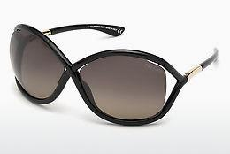 Sonnenbrille Tom Ford Whitney (FT0009 01D) - Schwarz, Shiny
