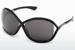 Sonnenbrille Tom Ford Whitney (FT0009 199) - Schwarz, Shiny