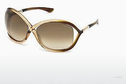 Sonnenbrille Tom Ford Whitney (FT0009 74F) - Rosa, Rosa