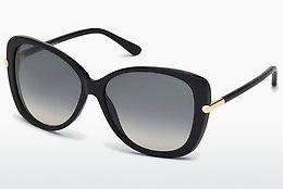 Sonnenbrille Tom Ford Linda (FT0324 01B) - Schwarz, Shiny