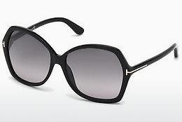 Sonnenbrille Tom Ford Carola (FT0328 01B) - Schwarz, Shiny