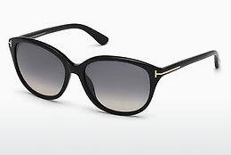 Sonnenbrille Tom Ford Karmen (FT0329 01B) - Schwarz, Shiny