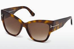 Sonnenbrille Tom Ford Anoushka (FT0371 53F) - Havanna, Yellow, Blond, Brown