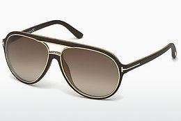 Sonnenbrille Tom Ford Sergio (FT0379 50K) - Braun, Dark