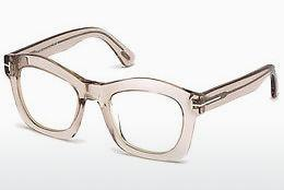 Sonnenbrille Tom Ford Greta (FT0431 074) - Rosa, Rosa