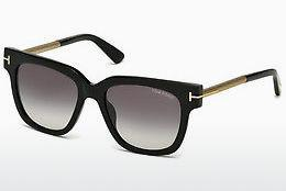 Sonnenbrille Tom Ford Tracy (FT0436 01B) - Schwarz, Shiny