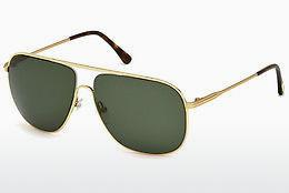 Sonnenbrille Tom Ford Dominic (FT0451 28N) - Gold