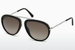 Sonnenbrille Tom Ford Stacy (FT0452 01K) - Schwarz, Shiny