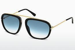 Sonnenbrille Tom Ford Johnson (FT0453 01P) - Schwarz, Shiny