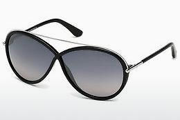 Sonnenbrille Tom Ford Tamara (FT0454 01C) - Schwarz, Shiny