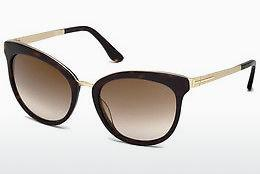 Sonnenbrille Tom Ford Emma (FT0461 52G) - Braun, Dark, Havana