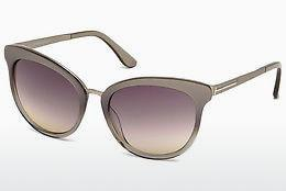 Sonnenbrille Tom Ford Emma (FT0461 59B) - Horn, Beige, Brown