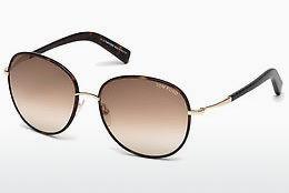 Sonnenbrille Tom Ford Georgia (FT0498 52F) - Braun, Dark, Havana