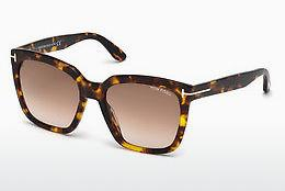 Sonnenbrille Tom Ford Amarra (FT0502 52F) - Braun, Dark, Havana