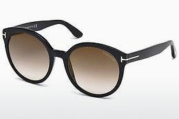 Sonnenbrille Tom Ford Philippa (FT0503 01G) - Schwarz, Shiny