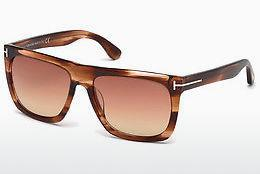 Tom Ford Damen Sonnenbrille » FT0532«, gelb, 53W - gelb/blau