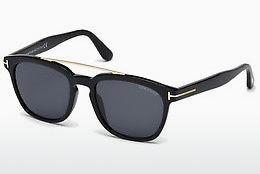 Sonnenbrille Tom Ford Holt (FT0516 01A) - Schwarz, Shiny