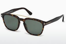 Sonnenbrille Tom Ford Holt (FT0516 52R) - Braun, Dark, Havana