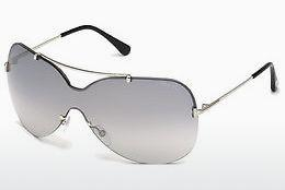 Sonnenbrille Tom Ford Ondria (FT0519 16C) - Silber, Shiny, Grey