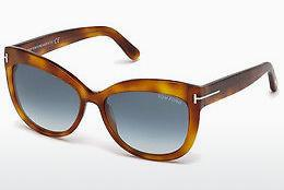 Sonnenbrille Tom Ford Alistair (FT0524 53W) - Havanna, Yellow, Blond, Brown