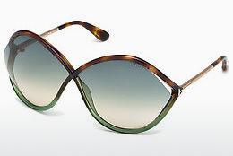Sonnenbrille Tom Ford Liora (FT0528 56W) - Havanna