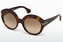 Sonnenbrille Tom Ford Rachel (FT0533 53F) - Havanna, Yellow, Blond, Brown
