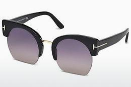 Sonnenbrille Tom Ford Savannah (FT0552 01B) - Schwarz, Shiny