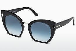 Sonnenbrille Tom Ford Samantha (FT0553 01W) - Schwarz, Shiny