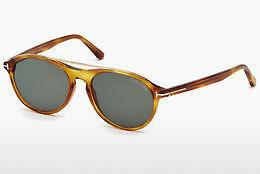 Sonnenbrille Tom Ford Cameron (FT0556 53N) - Havanna, Yellow, Blond, Brown