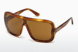 Sonnenbrille Tom Ford FT0559 53E - Gelb, Braun, Havanna