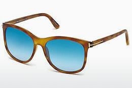 Sonnenbrille Tom Ford FT0567 53X - Havanna, Yellow, Blond, Brown
